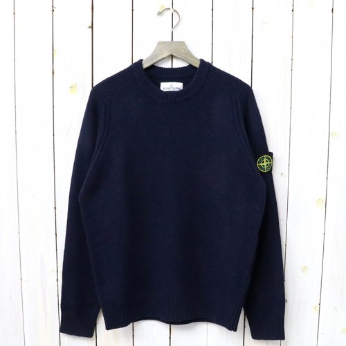 STONE ISLAND『CREW NECK KNIT』(NAVY)