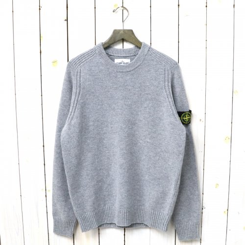 『CREW NECK KNIT』(PEARL GRAY)