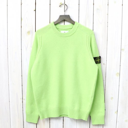 『CREW NECK KNIT』(PISTACHIO GREEN)