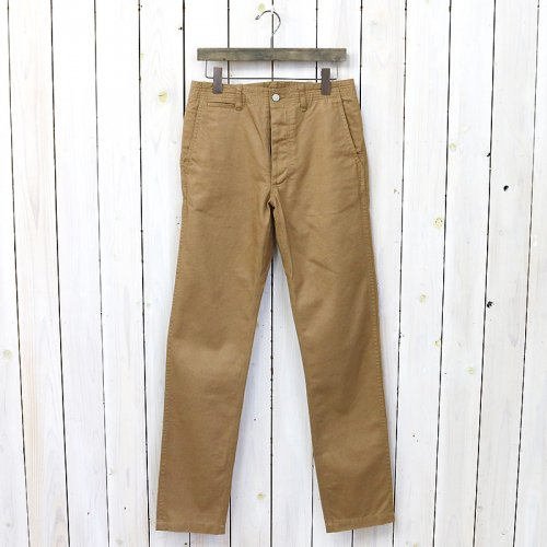 SASSAFRAS『SPRAYER PANTS(C/L CHINO)』(BEIGE)