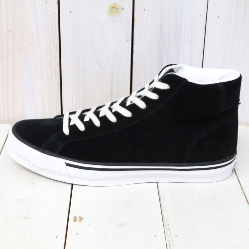 『Lot 3401 HI CUT SUEDE SNEAKER』(BLACK)