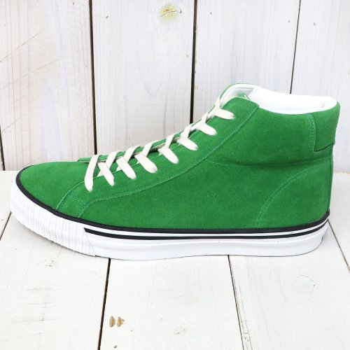 『Lot 3401 HI CUT SUEDE SNEAKER』(GREEN)