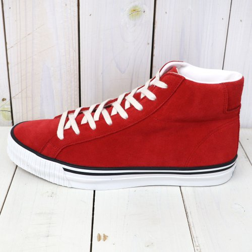 『Lot 3401 HI CUT SUEDE SNEAKER』(RED)