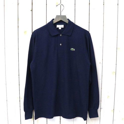 『ポロシャツ(長袖)』(ネイビー)