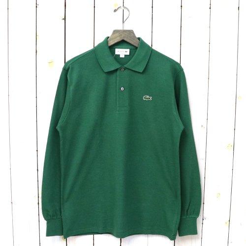 『ポロシャツ(長袖)』(グリーン)