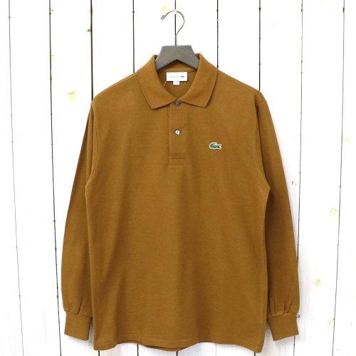 『ポロシャツ(長袖)』(ブラウン)