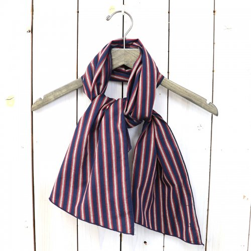 『Long Scarf-Regimental St.』(Navy/Red/White)
