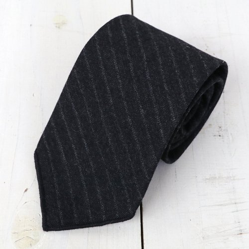 『Neck Tie-Worsted Wool Chalk St.』