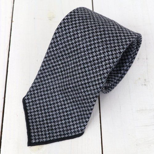 『Neck Tie-Glen Plaid Houndstooth』