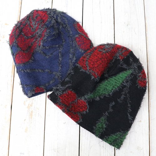 ENGINEERED GARMENTS『Long Beanie-Floral Knit Jacquard』