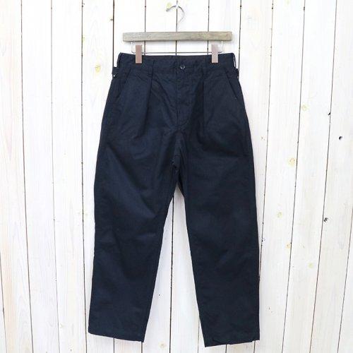 『Ground Pant-Cotton HB Twill』(Dk.Navy)