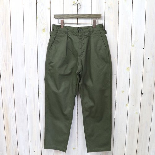 『Ground Pant-Cotton HB Twill』(Olive)