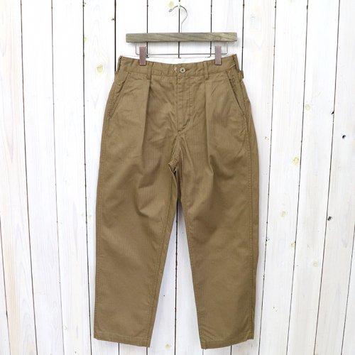 『Ground Pant-Cotton HB Twill』(Khaki)