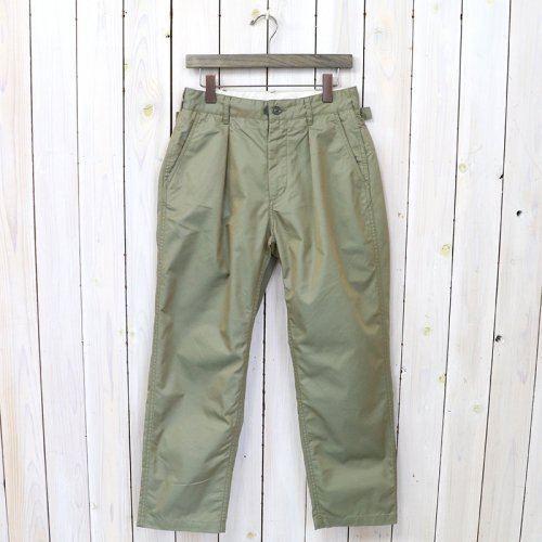 『Ground Pant-PC Iridescent Twill』(Olive)