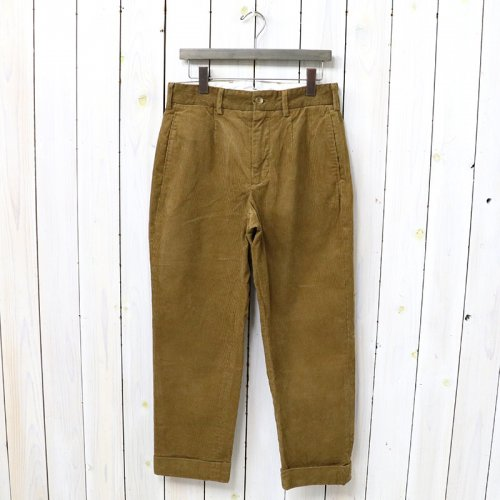 『Andover Pant-11W Corduroy』(Chestnut)