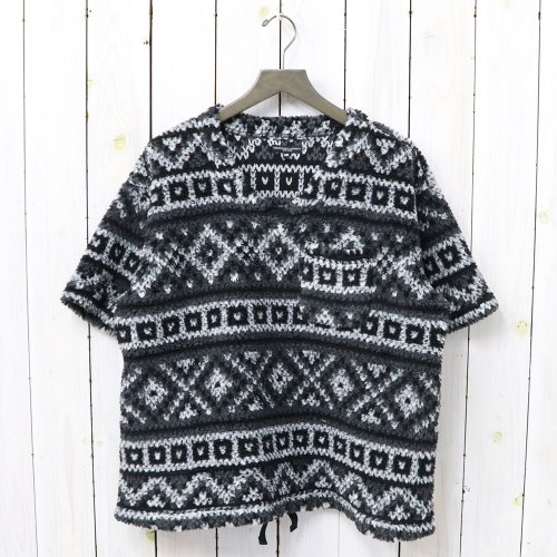 『U Neck Popover-Fair Isle Sweater Knit』