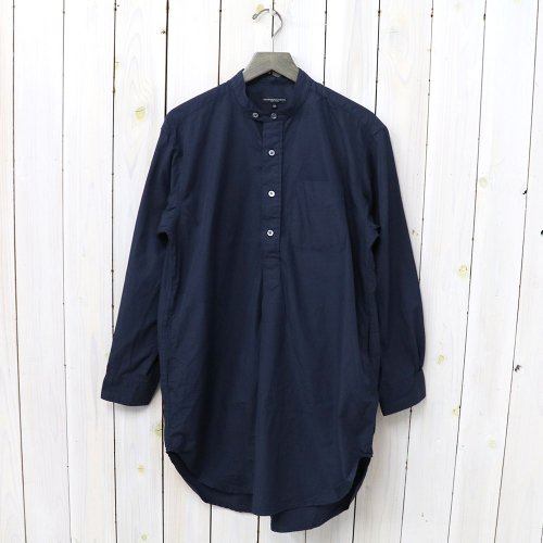 『Banded Collar Shirt-100's 2Ply Broadcloth』(Dk.Navy)