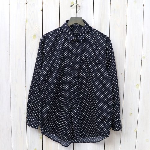 ENGINEERED GARMENTS『Short Collar Shirt-Big Polka Dot Broadcloth』