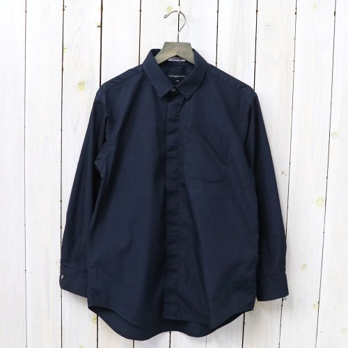 ENGINEERED GARMENTS『Short Collar Shirt-100's 2Ply Broadcloth』(Dk.Navy)