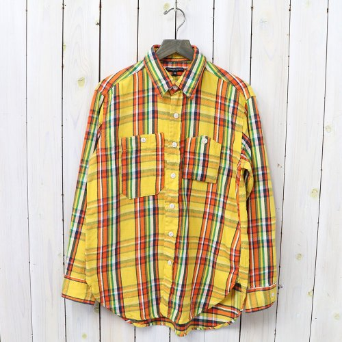 『Work Shirt-Twill Plaid』(Yellow)
