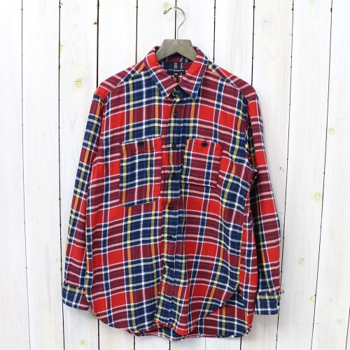 『Work Shirt-Twill Plaid』(Red/Navy)