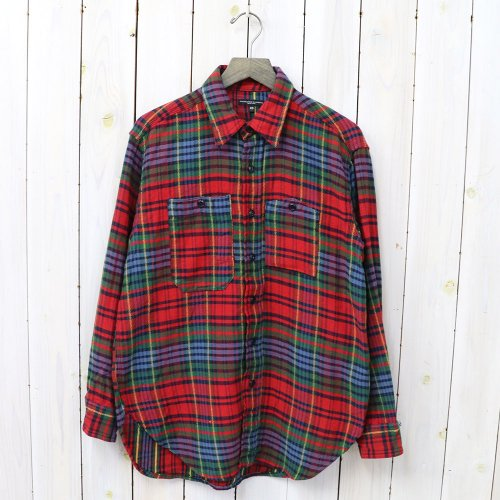 ENGINEERED GARMENTS『Work Shirt-Twill Plaid』(Navy/Red/Green)