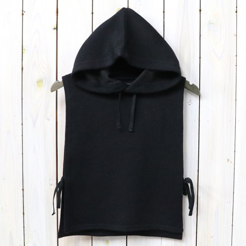 ENGINEERED GARMENTS『Hooded Interliner-Poly Wool Jersey Knit』(Black)