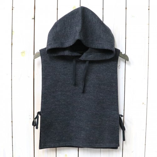 『Hooded Interliner-Poly Wool Jersey Knit』(Charcoal)