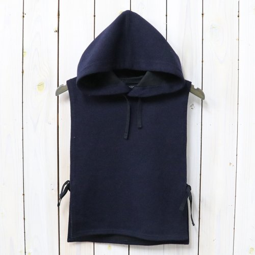 『Hooded Interliner-Poly Wool Jersey Knit』(Dk.Navy)