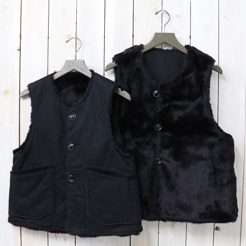 『Over Vest-Cotton HB Twill』(Black)