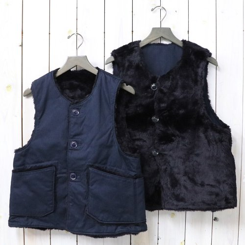 『Over Vest-Cotton HB Twill』(Navy)