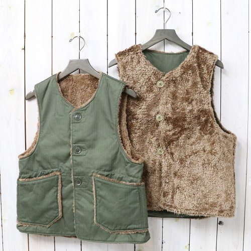 ENGINEERED GARMENTS『Over Vest-Cotton HB Twill』(Olive)