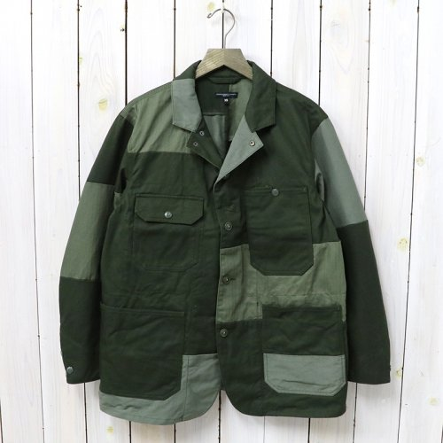 『Logger Jacket-Cotton Heavy Twill』(Olive)
