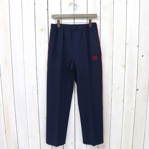 『Side Line Center Seam Pant-Poly Smooth』(Navy)