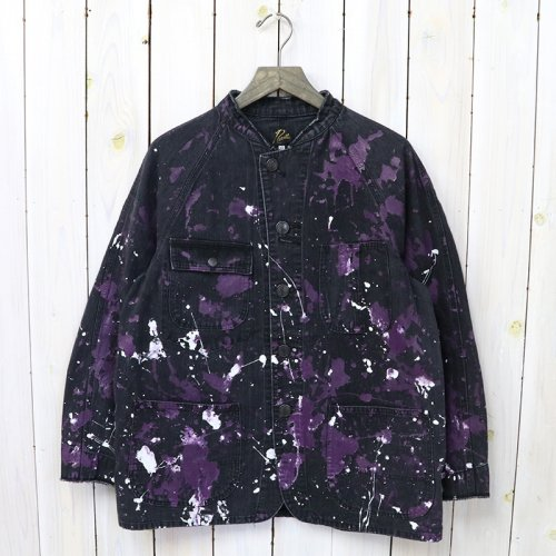 『Chore Coat-10oz Denim/Paint』(Black)