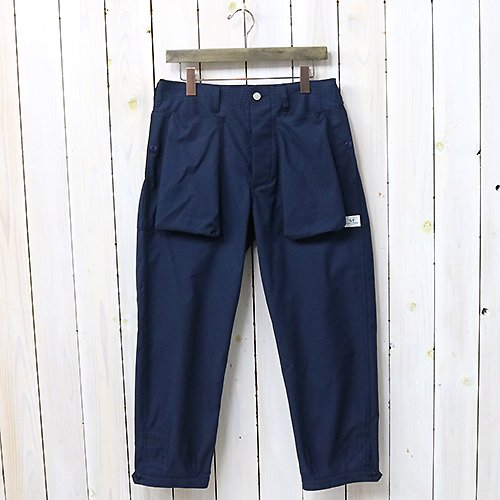 『DIGS CREW PANTS 4/5(T/C AMERICAN OXFORD)』(NAVY)