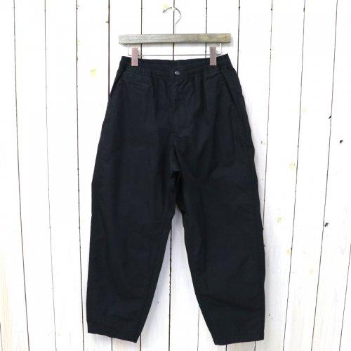 『Ripstop Shirred Waist Pants』(Black)