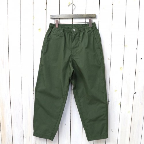 『Ripstop Shirred Waist Pants』(Khaki)