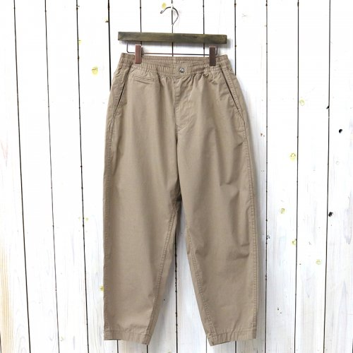 『Ripstop Shirred Waist Pants』(Beige)
