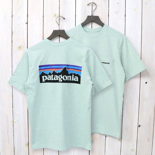 patagonia『M's P-6 Logo Pocket Responsibili Tee』(Lite Distilled Green)