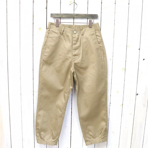 『SPRAYER STREAM PANTS 4/5(WEST POINT)』(BEIGE)