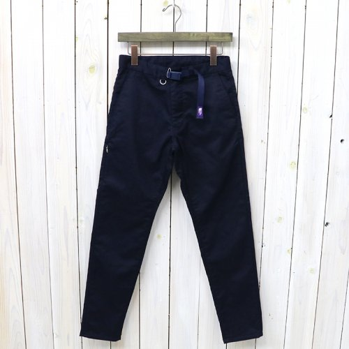 『Stretch Twill Tapered Pants』(Dark Navy)