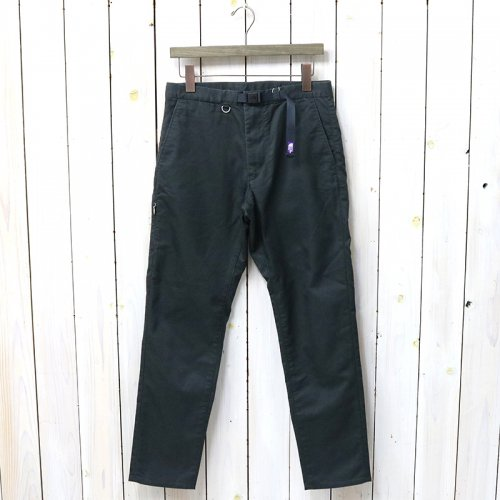 『Stretch Twill Tapered Pants』(Charcoal)