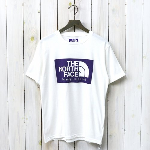 THE NORTH FACE PURPLE LABEL『H/S Logo Tee』(Off White)