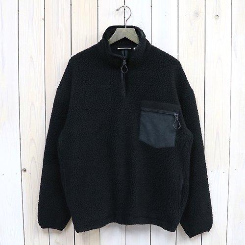 『Fleece Pullover』(Black)