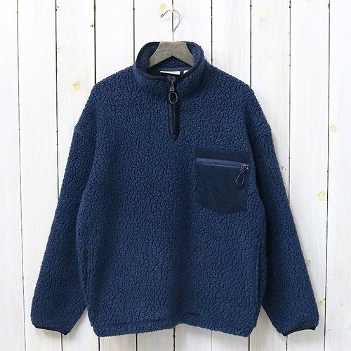 nanamica『Fleece Pullover』(Navy)