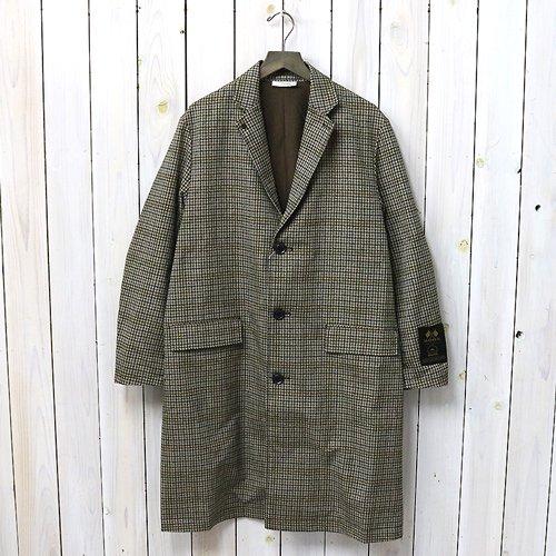 nanamica『ALPHADRY Chesterfield Coat』(Gun Club Check)
