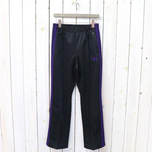 『Boot-Cut Track Pant-Poly Smooth』(Black)