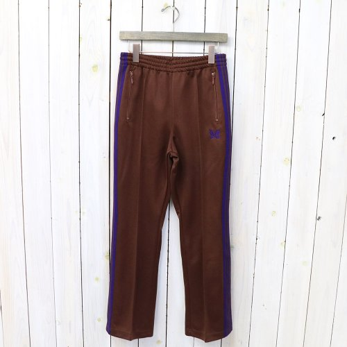 Needles『Boot-Cut Track Pant-Poly Smooth』(Brown)
