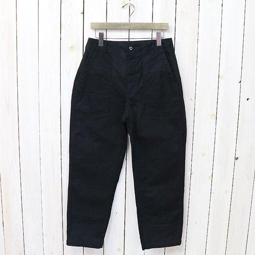ENGINEERED GARMENTS『Fatigue Pant-Cotton Heavy Twill』(Black)